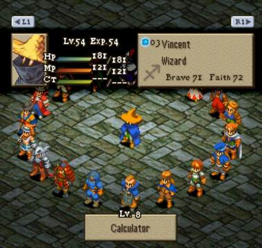 how to bring up turn list fft wotl on androif