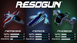 Resogun Ships