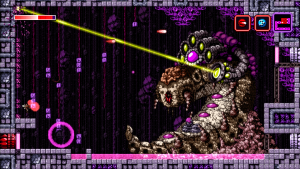 Axiom Verge Slug Boss