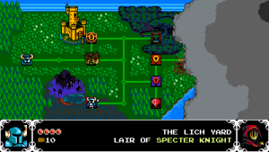 Shovel Knight Overhead Map