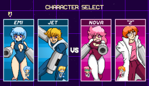 Capsule Force Characters