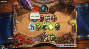 Hearthstone Well Played