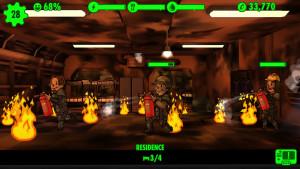 Fallout Shleter Fire