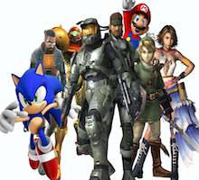 Video Game Characters Small