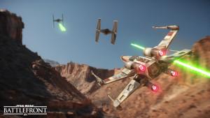 Star Wars Battlefront Xwing Tie
